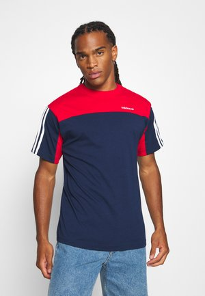 CLASSICS TEE - T-shirt z nadrukiem - blue
