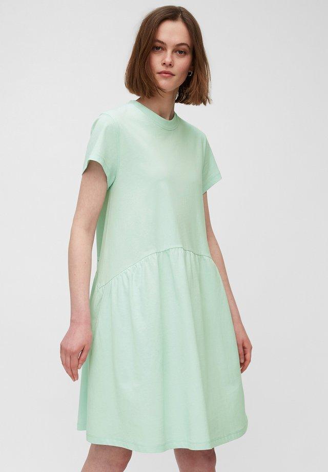 Sukienka z dżerseju - blue glow