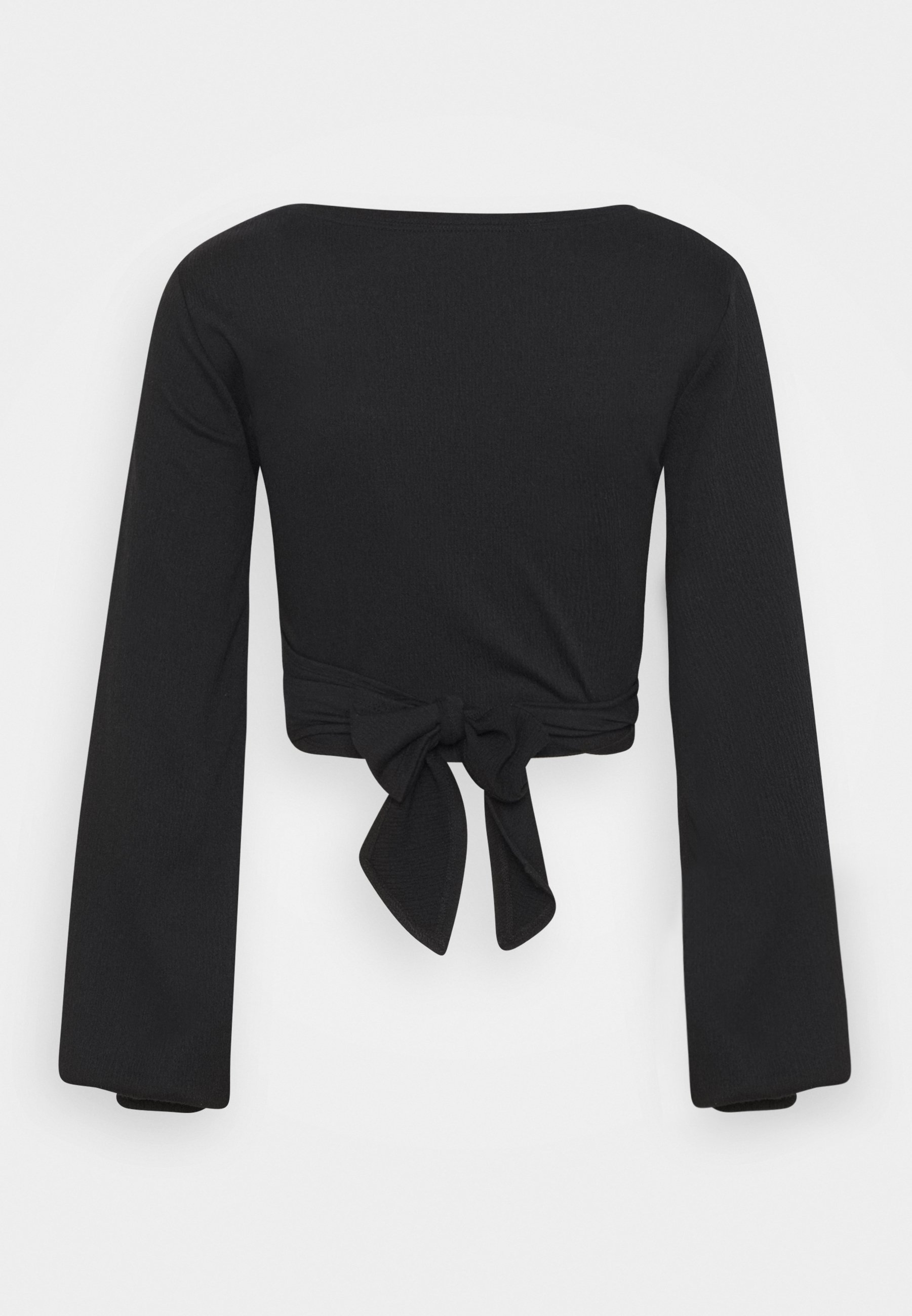 Women JUDE TIE FRONT LONG SLEEVE - Long sleeved top