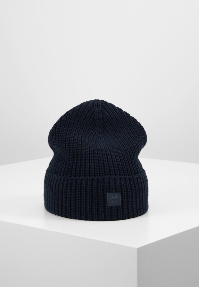LEAF HAT UNISEX - Muts - dark blue