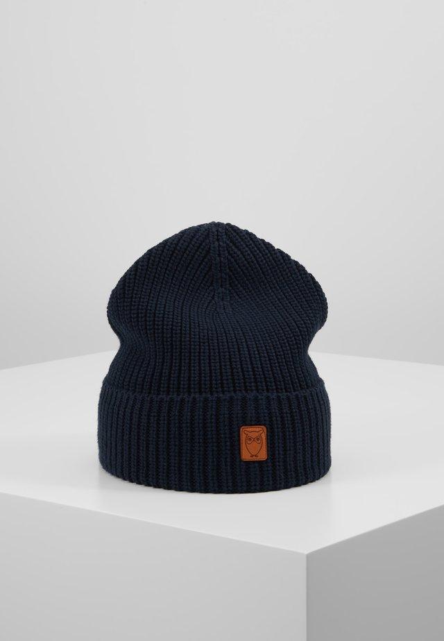 RIBBING HAT - Mössa - dark blue
