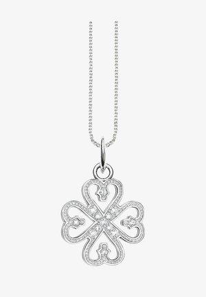 CLOVER LEAF - Necklace - silber