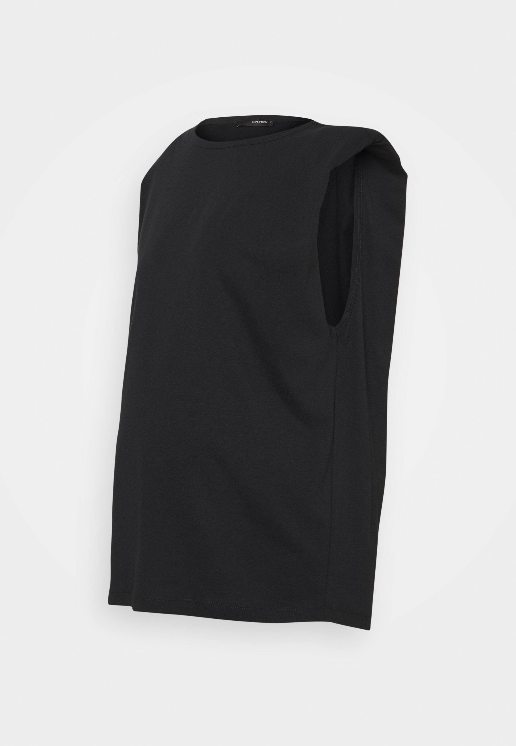 Damen TEE SHOULDERPADS - T-Shirt basic