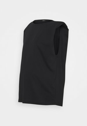 TEE SHOULDERPADS - T-shirt basic - black