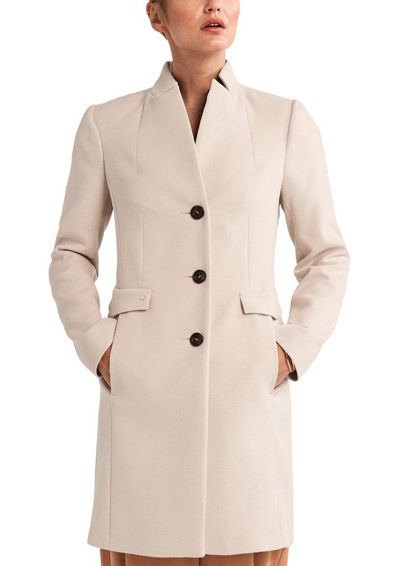 comma - Classic coat - ivory