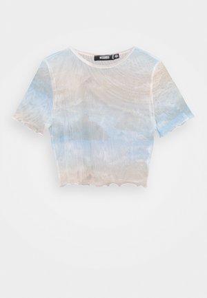 SKY PRINT CROP - T-shirts med print - multi