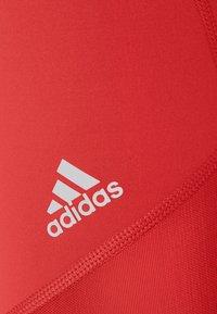 adidas Performance - ADILIFE - Collants - crew red/black/white - 6