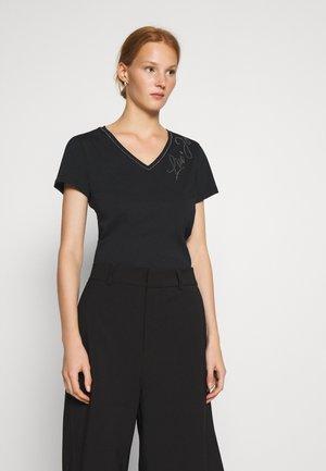 MODA - T-shirts med print - nero