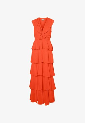 V-AUSSCHNITT- - Maxi dress - tigerlily