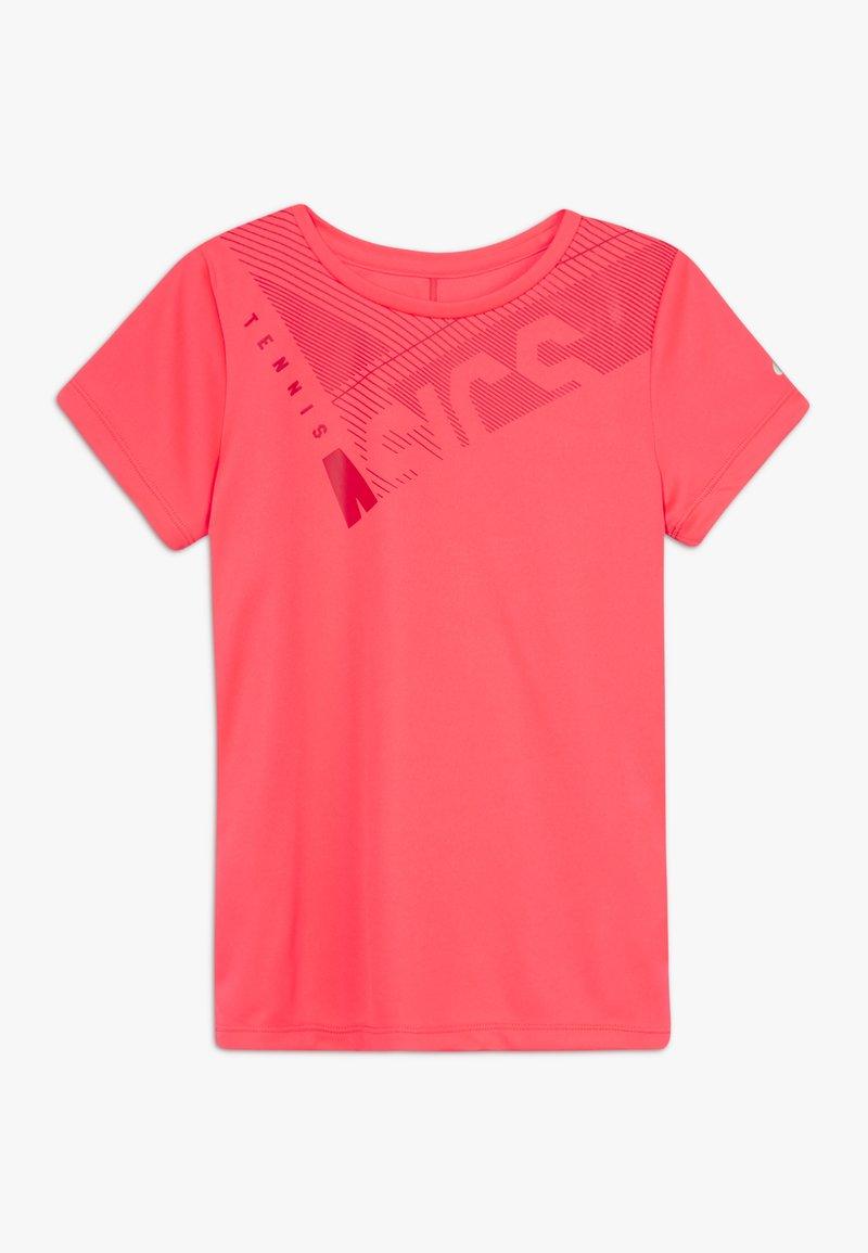 ASICS - TENNIS  - Funkční triko - diva pink