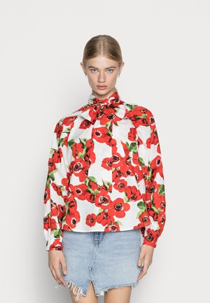 KARO DALL MOVES ASTAGRY  - Blouse - fiery red