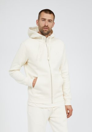 GAASTON COMFORT UNDYED - Zip-up sweatshirt - undyed
