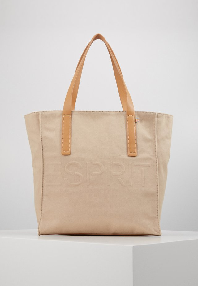 DREW SHOPPER - Handbag - beige