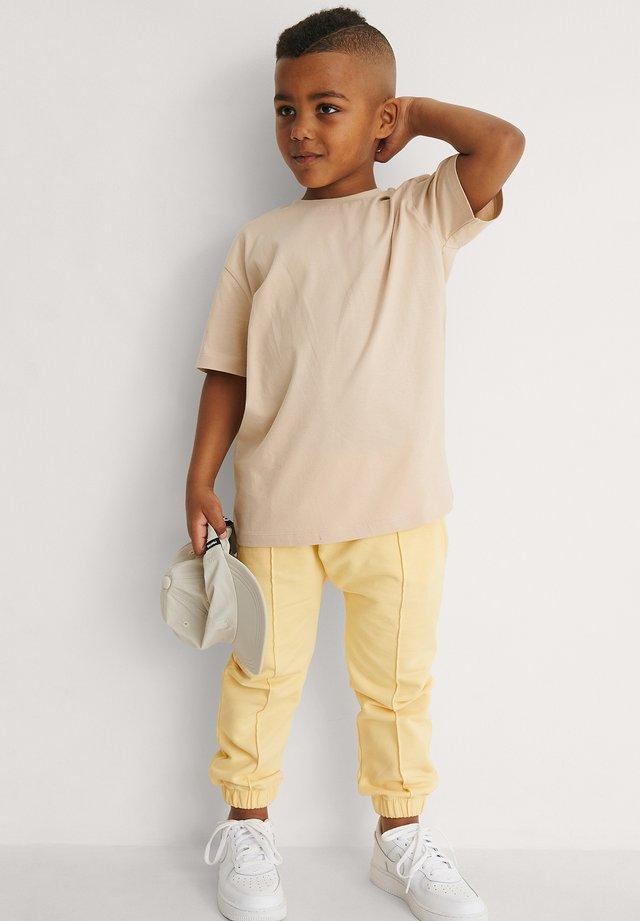 ORGANIC - T-shirt basic - dark beige