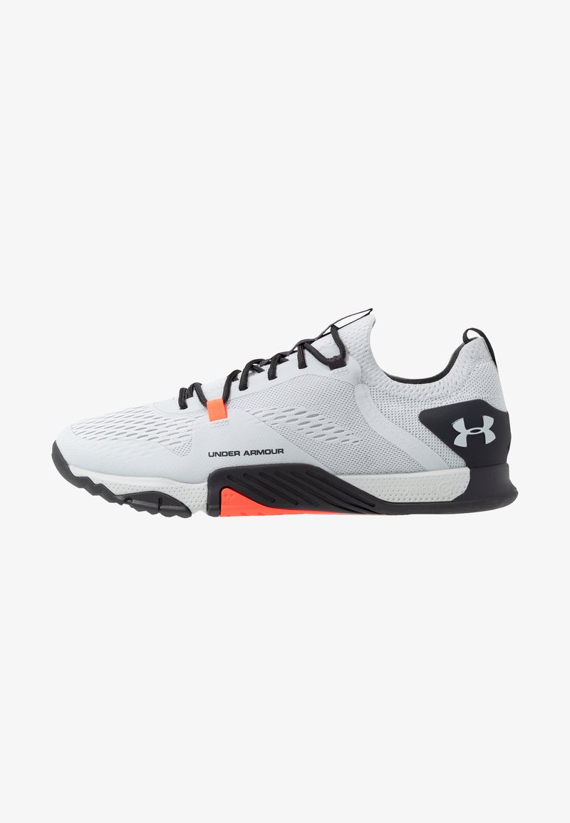 Under Armour - TRIBASE REIGN  - Træningssko - halo gray/blackout purple