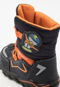 Lurchi - KERO SYMPATEX - Winter boots - atlantic/orange - 5