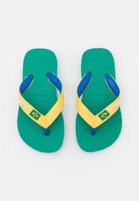 Havaianas - BRASIL MIX  UNISEX - T-bar sandals - tropical green - 0