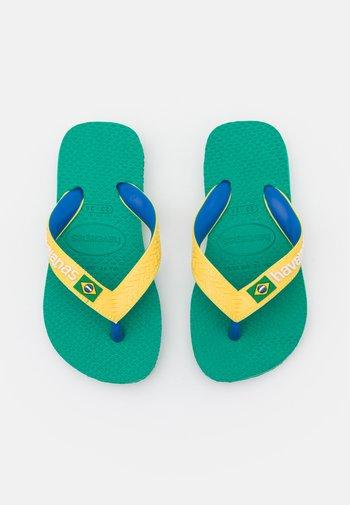 BRASIL MIX  UNISEX - T-bar sandals - tropical green