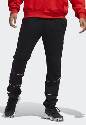 D.O.N. ISSUE #2 FLEECE JOGGERS - Pantalones deportivos - black