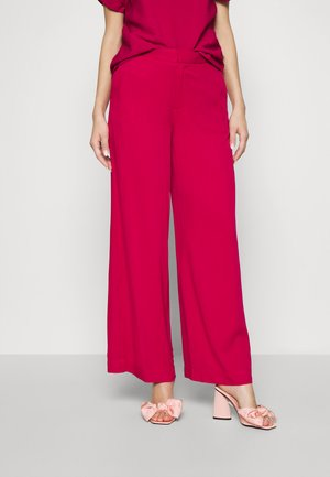 TROUSER FREIDA - Trousers - persianred
