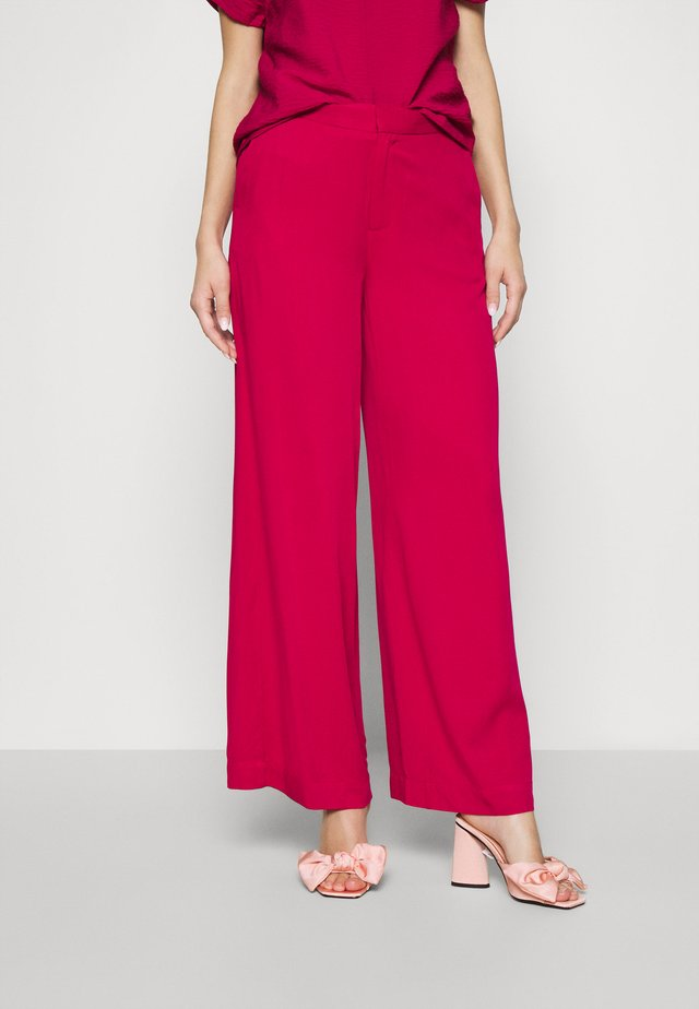 TROUSER FREIDA - Pantaloni - persianred
