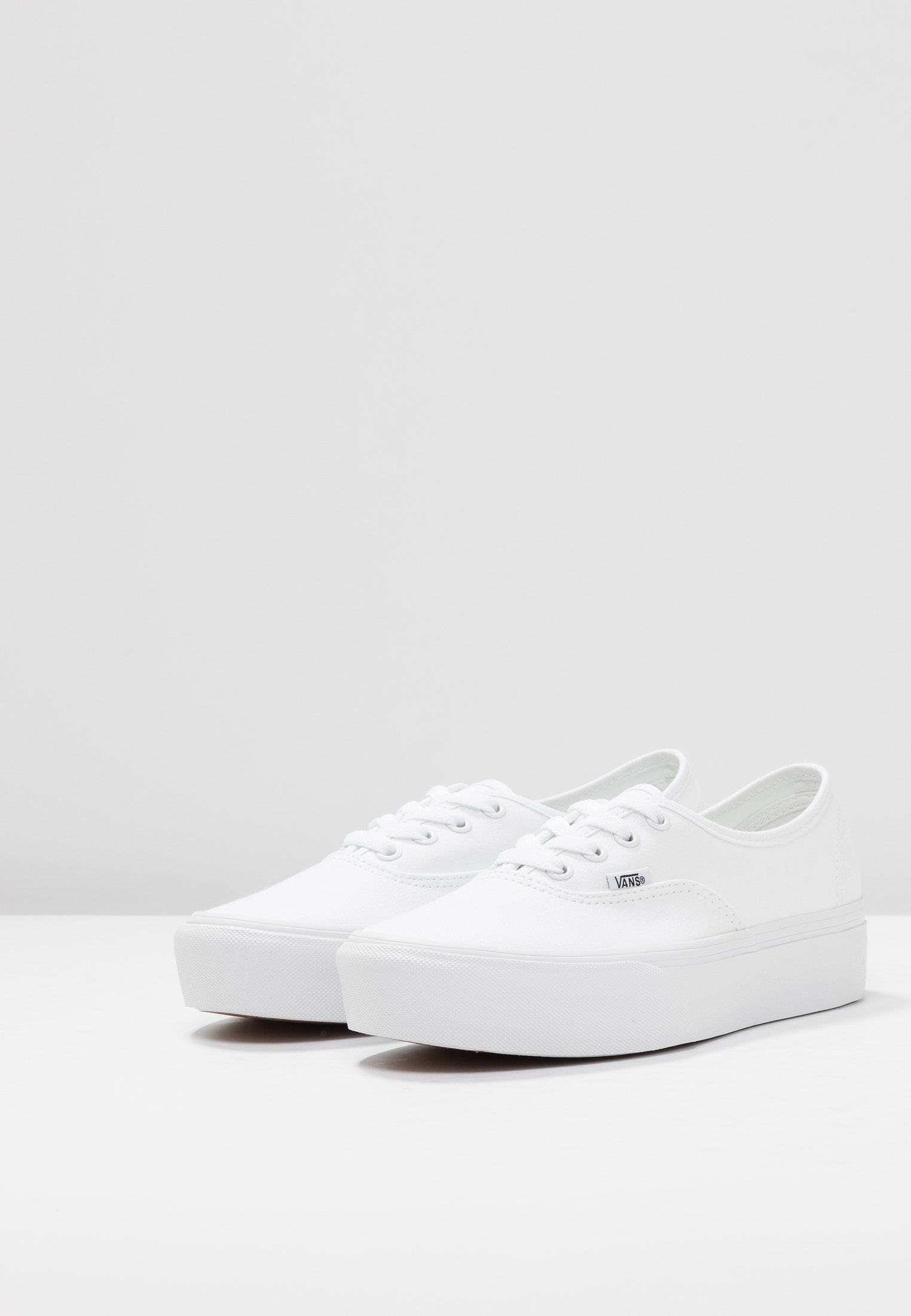 Vans AUTHENTIC PLATFORM Skateschuh true white/weiß