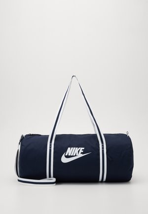 HERITAGE - Sports bag - obsidian/white