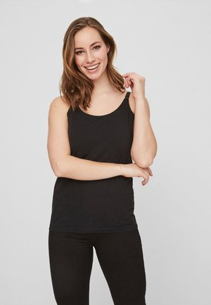STILL-BLUSE OHNE ÄRMEL 2 PACK - Blusa - black, white