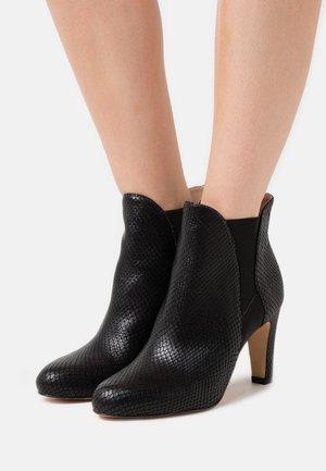 JEENA - High heeled ankle boots - noir