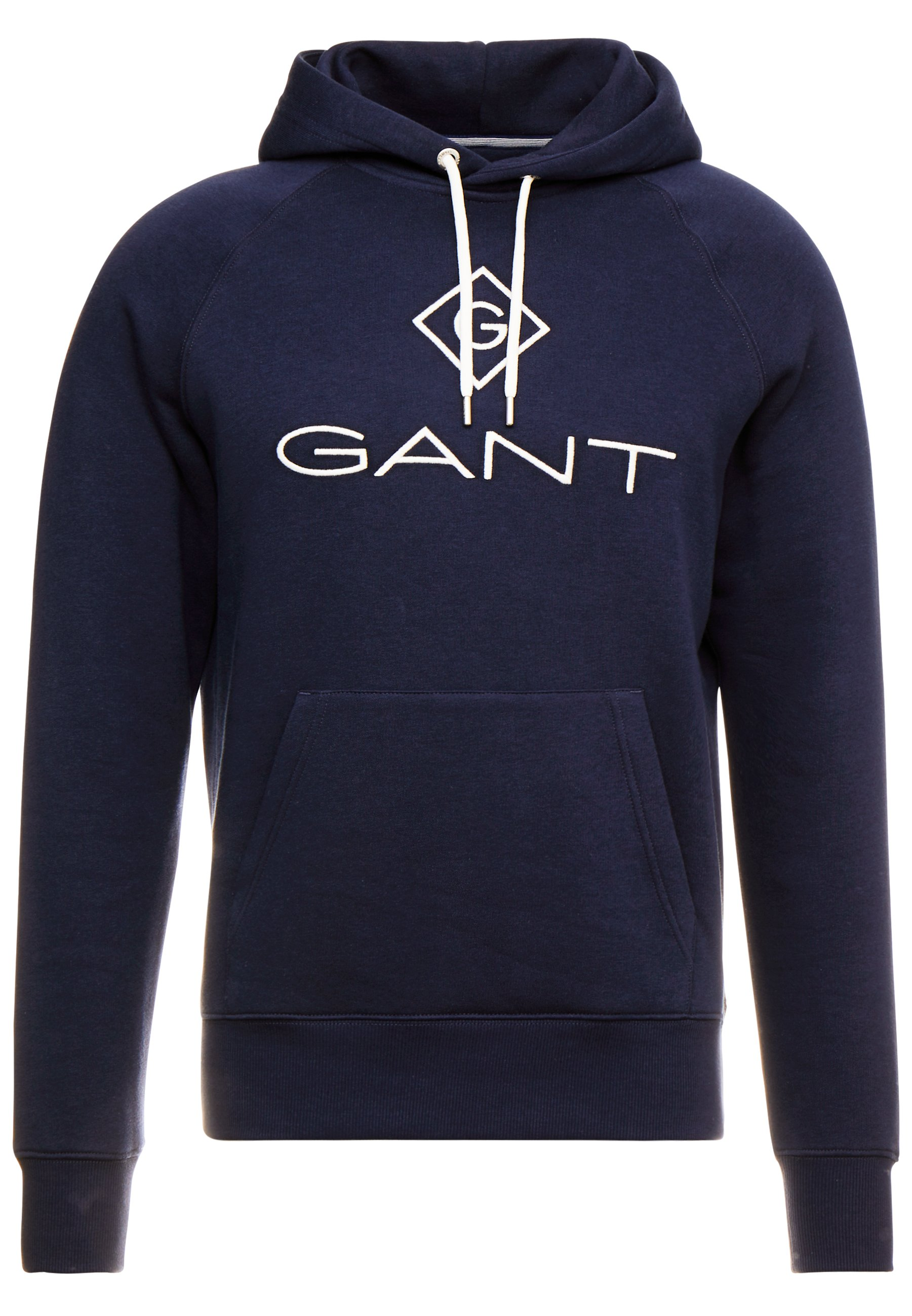 Gant Lock Up Hoodie - Evening Blue/mørkeblå