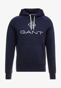 GANT - LOCK UP HOODIE - Sweat à capuche - evening blue - 4