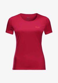 Jack Wolfskin - TECH T W - Sports shirt - scarlet - 2