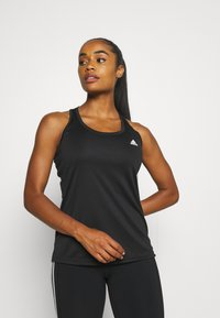 adidas Performance - T-shirt de sport - black/white - 0