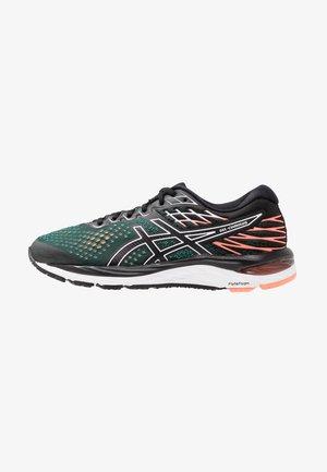 GEL-CUMULUS  - Neutral running shoes - black/sun coral