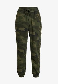 Hollister Co. - ULTRA HIGH RISE JOGGER - Trousers - olive - 5