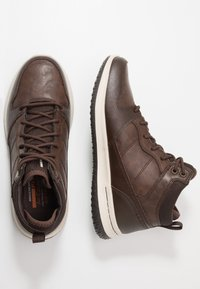 Skechers - DELSON - High-top trainers - chocolate - 1
