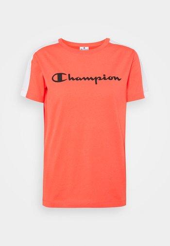 CREWNECK - T-shirt con stampa - coral