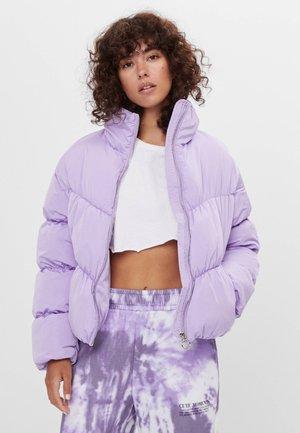 Zimní bunda - mauve