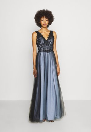 Robe de cocktail - black/blue