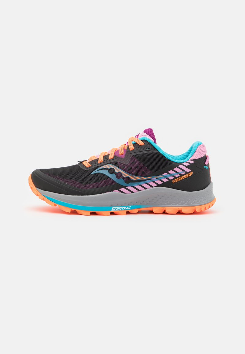 Saucony - PEREGRINE 11 - Trail running shoes - future black