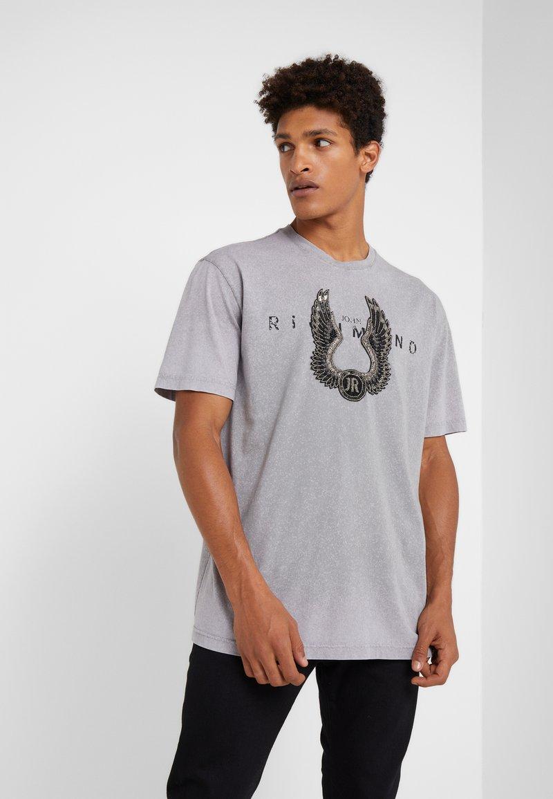 John Richmond - ZARAGOVA - Print T-shirt - grey medium