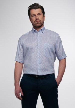 COMFORT FIT - Shirt - orange/blau