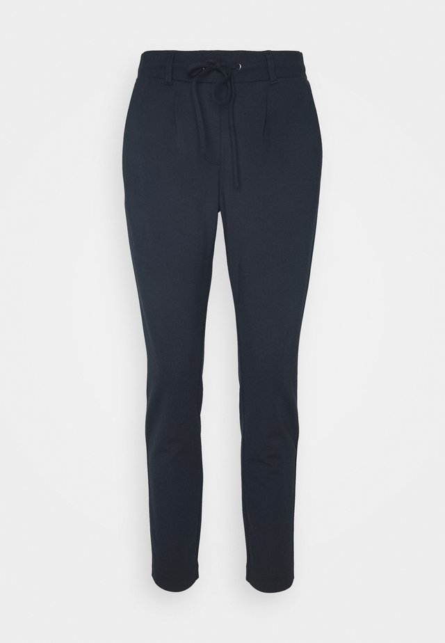 PANTS ANKLE - Pantalones - real navy blue