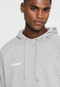 Hummel - Hoodie - grey melange - 5