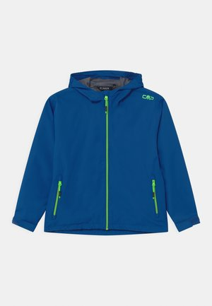 RAIN FIX HOOD  - Waterproof jacket - royal