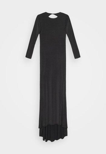 FISHTAIL DRESS - Vestido de fiesta - black