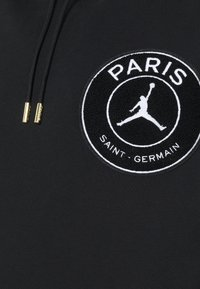 Nike Performance - PARIS ST GERMAIN TAPED HOODIE - Club wear - black/bordeaux - 2