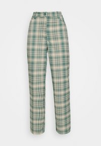 Monki - SIMONE TROUSERS - Bukse - green medium/dusty unique - 4