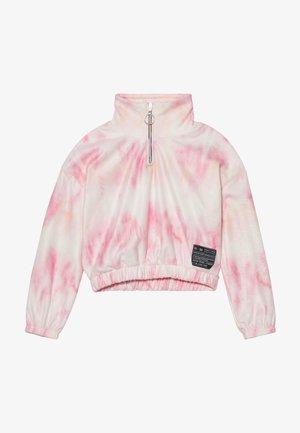 FUNNEL NECK  - Fleece jumper - pink light