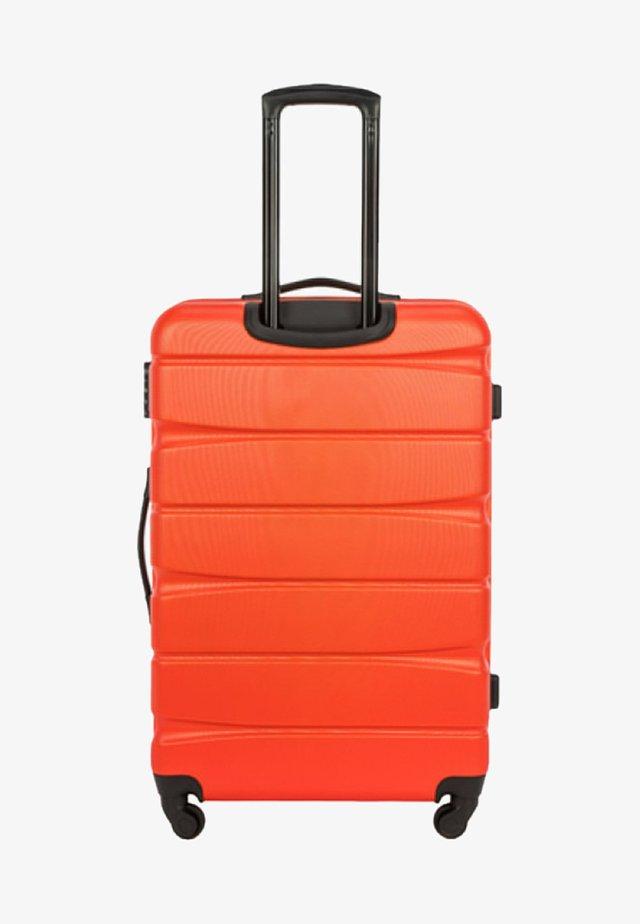 GROOVE - Wheeled suitcase - orange